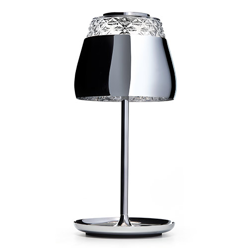 Moooi Valentine table lamp chroom