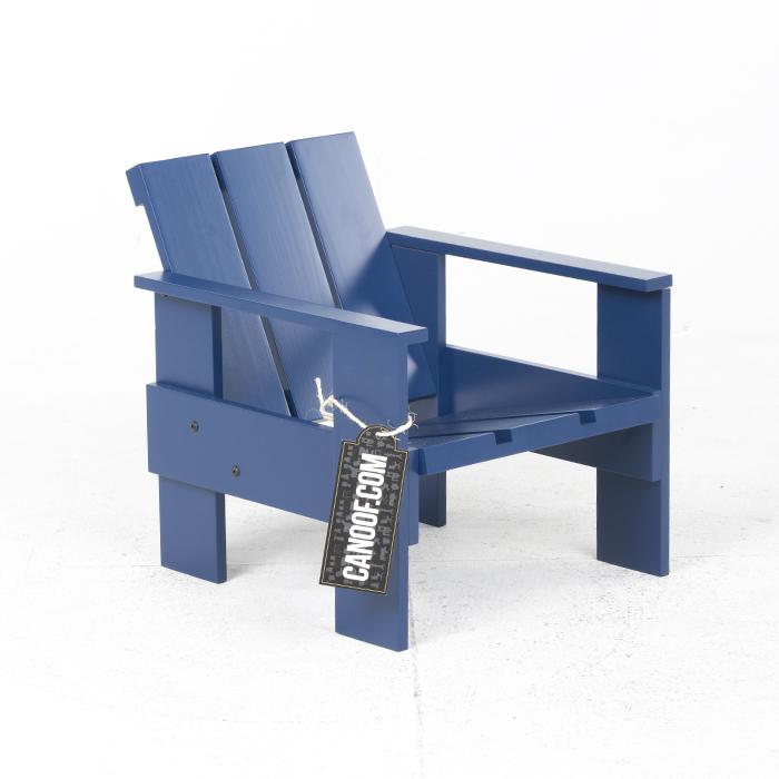 rietveld junior kratstoel blauw