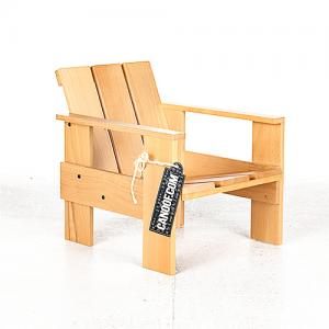 rietveld junior kratstoel naturel