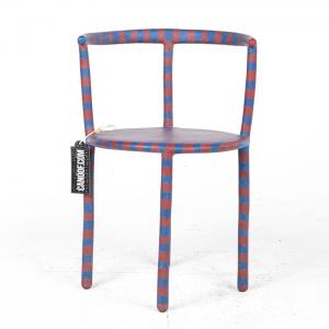 maarten baas striped clay chair