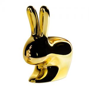 qeeboo rabbit chair goud