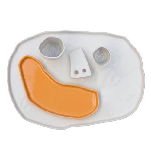 maarten baas pretty happy bord oranje