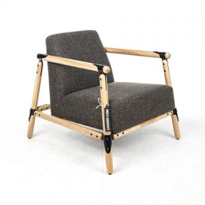 Vroonland Pin Lounge fauteuil grijs
