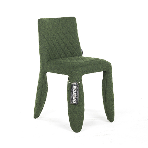 moooi monster chair divina melange groen kvadrat nr 971