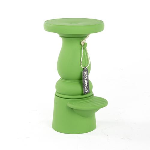 Moooi new antiques bar stool groen