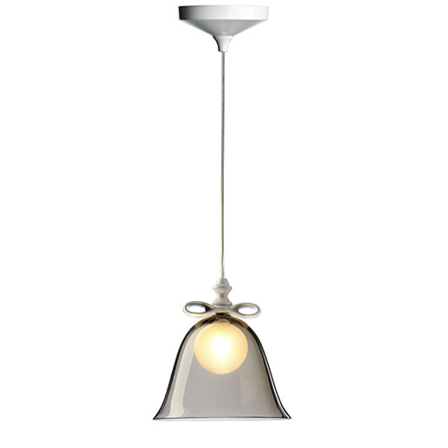 Moooi Bell Lamp white smoke