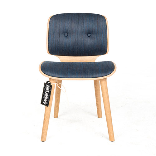 moooi nut stoel blauw