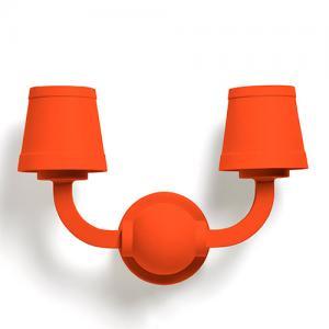 moooi paper wall lamp rood
