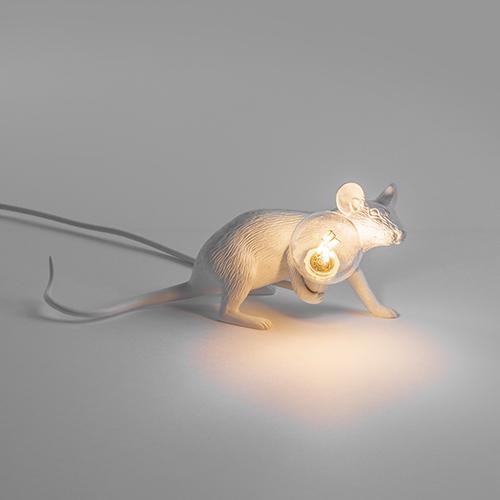 seletti muis lamp wit