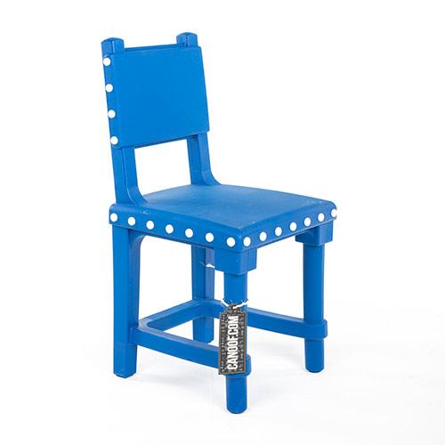 moooi gothic chair blauw