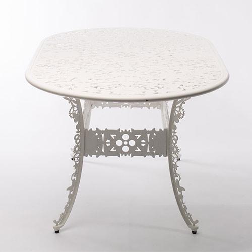 Seletti industry tafel ovaal wit geschikt voor for Tafel ovaal