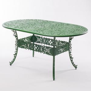 seletti industry tafel ovaal groen