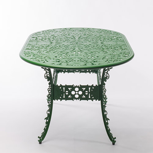 Seletti industry tafel ovaal groen geschikt voor for Tafel ovaal