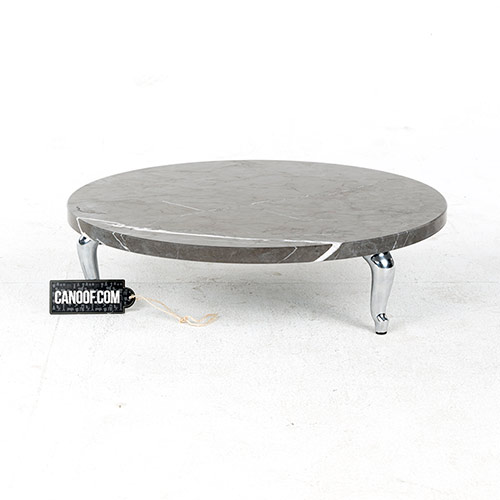 moooi bassotti coffee table rond grijs