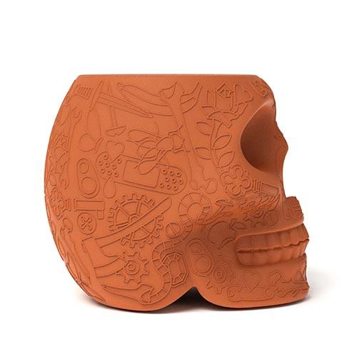 qeeboo mexico bijzettafel terracotta