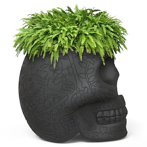 qeeboo mexico plantenbak zwart