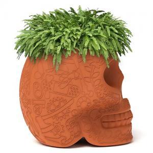 qeeboo mexico plantenbak terracotta