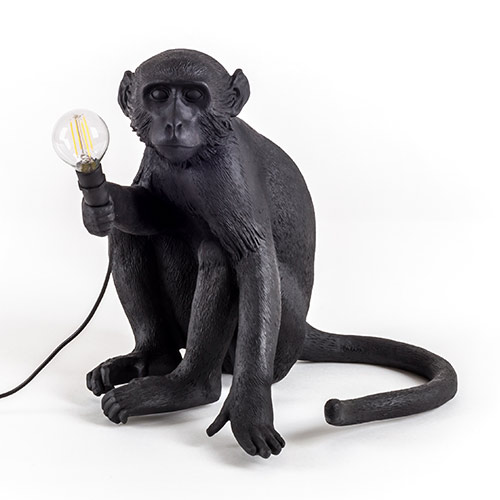 seletti aap lamp zwart