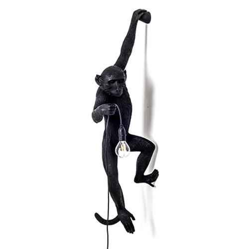 seletti aap lamp zwart hangend