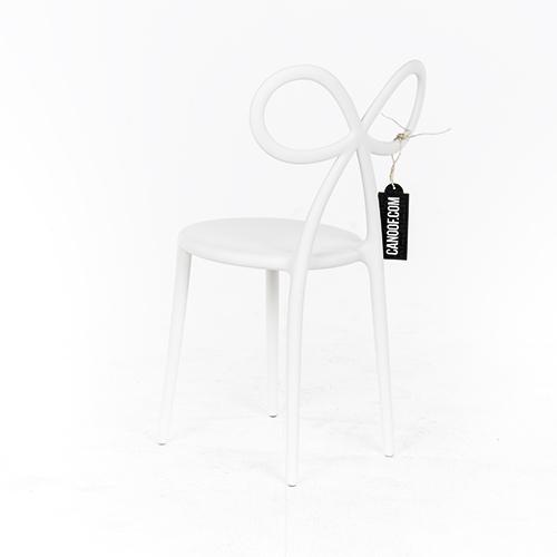 Ribbon Kleur Qeeboo nl Wit Canoof Kunststof Chair f7v6ygYb
