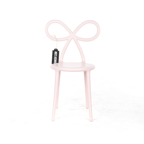 qeeboo ribbon chair roze