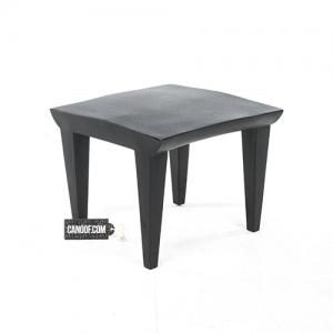 Kartell Bubble Club tafel zwart