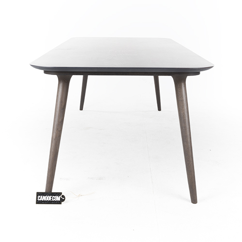 moooi zio dining table grijs