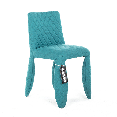 moooi monster chair divina melange turquoise