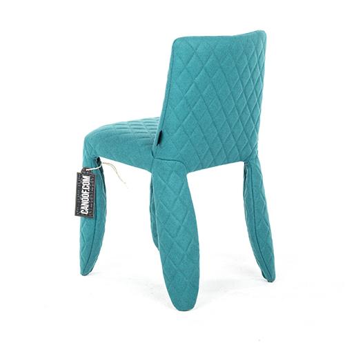 moooi monster chair divina melange turquoise
