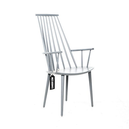 Fersk Hay J110 stoel grijs gelakt // Materiaal: beuken - Canoof.nl SS-23