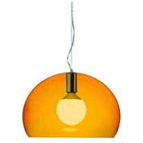 kartell fly hanglamp oranje