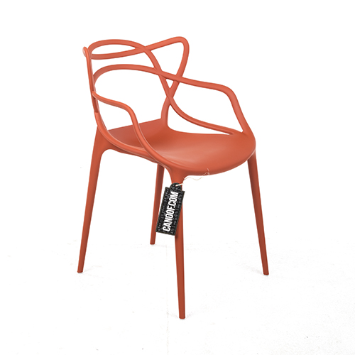 kartell masters chair oranje