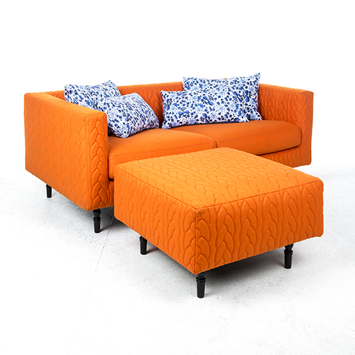 moooi boutique delft blue jumper 2-seater