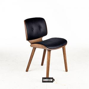 moooi nut stoel blauw kaneel