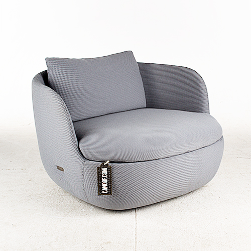 moooi bart armchair grijs