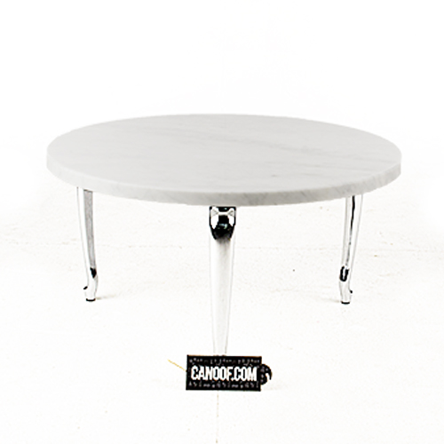 moooi bassotti coffee table rond wit