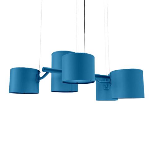 moooi statistocrat hanglamp blauw