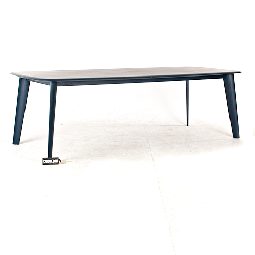 moooi tapered table blauw