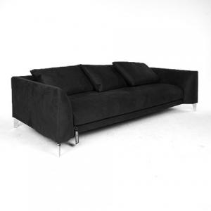 moooi canvas sofa zwart