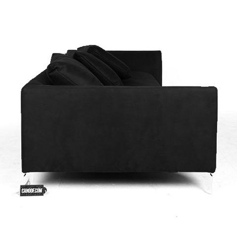 moooi canvas sofa zwart