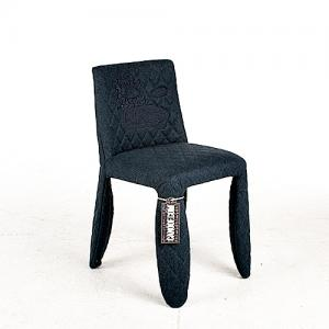 moooi monster chair divina melange blauw