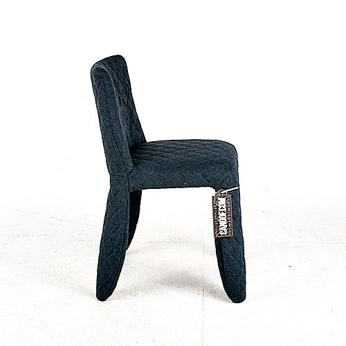 moooi monster chair divina melange blauw