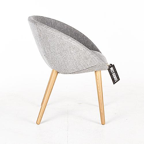 moooi love chair lichtgrijs