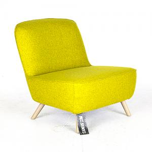 moooi cocktail chair geel