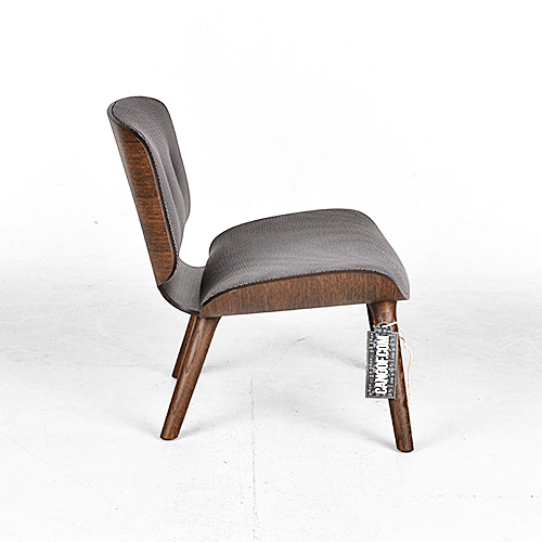 moooi nut lounge chair and footstool