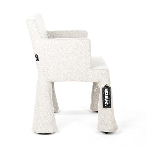moooi vip chair grijs