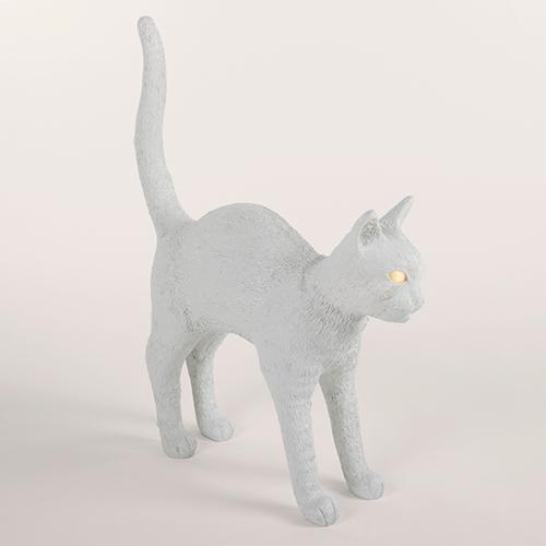seletti cat lamp wit