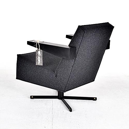 spectrum press room chair antraciet