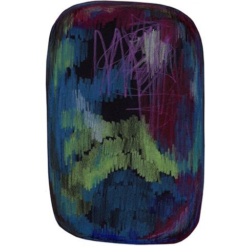 moooi carpets scribble blauw