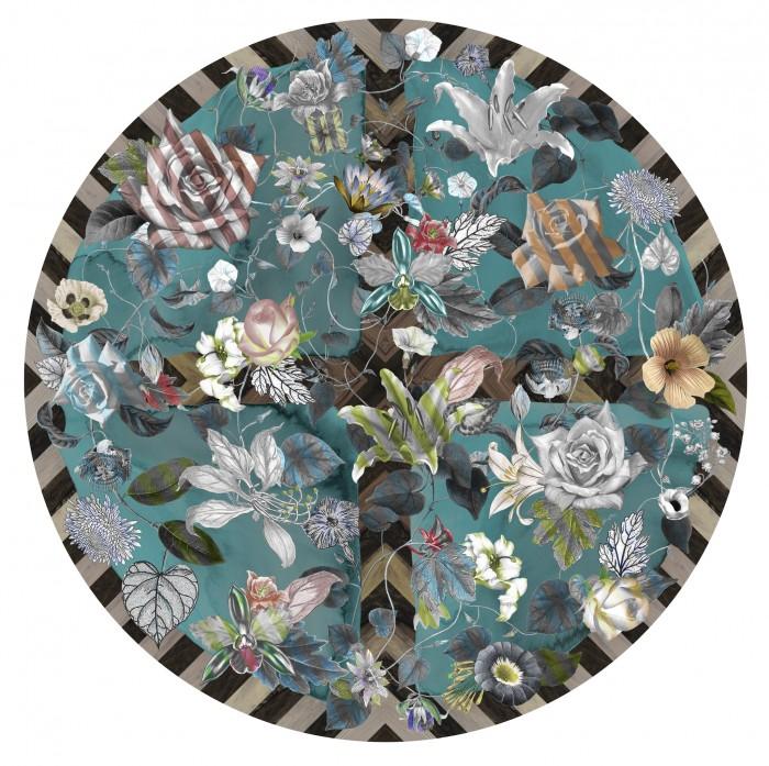 moooi carpets malmaison aquamarine